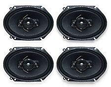 2 Pairs of Pioneer 5x7/ 6x8 Inch 4-Way 350 Watt Car Audio Speakers TS-A6880F