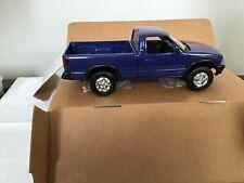 1994 Chevrolet S-10 4x4 Pickup Promo Model - Purple Metallic