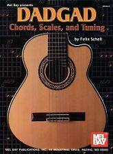 DADGAD CHORDS SCALES & TUNING GUITAR
