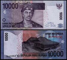 INDONESIA 10000 RUPIAH (P150f) 2014 UNC
