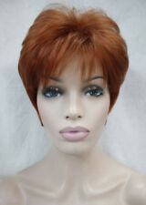 Excellent Fox Red Short Straight Women Ladies Daily wig FTLD043 + free wig cap