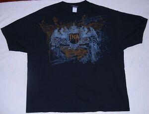 2007 TNA Wrestling Logo T-Shirt Size 3XL XXXL