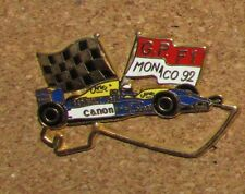 A67 PIN RACE CAR  Renault CANON 92 RARE HIGH QUALITY MONACO