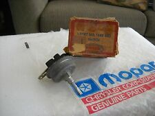 NOS MOPAR 1955 CHRYSLER HEAD LAMP SWITCH WITH PROTRUDING BUS BAR