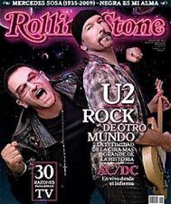 U2 Rolling Stone Argentina Magazine #140