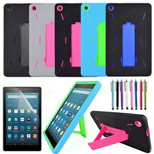 "For Amazon Kindle Fire 7"" Tablet 9th Generation 2019 Kids Shockproof Stand Case"