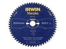 Irwin IRW1897460 254 x 30 mm 60 dents Irwin Marples Lame de scie circulaire avec ATB T