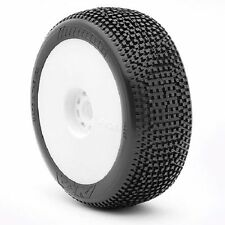 AKA 14007WRW Impact 1/8th Off Road Buggy Tyres Pre-glued Ultrasoft - set of 4