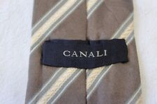 797)  CANALI  MEN'S TIE  100% SILK MADE IN ITALY