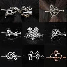 Vintage Women Viking Celtic Hairpin Gothic Dragon Meshy Shape Hair Clip Jewelry
