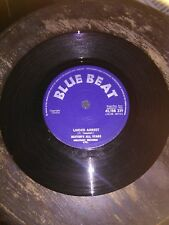 """PRINCE BUSTERS ALL STARS-UNDER ARREST.VINYL 7""""45.BLUE BEAT.NM"""