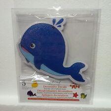 Splash Collection Decorative Bathtub Decals (Whale) (5 total)