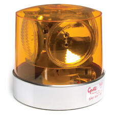 Grote EMERGENCY LIGHTING, YELLOW, COMPACT 4-SEALED BEAMS ROTO-BEACON (76203)