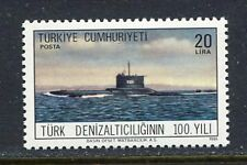 31140). TURKEY 1986 MNH** 1st Turkish Submarine 1v.