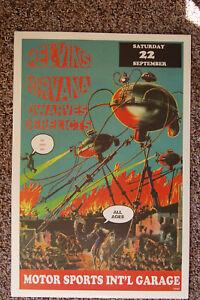 The Melvins Nirvana Concert Tour Poster  Motor Sports Int'l Garage -