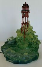 Harbour Lights Minot's Ledge Lighthouse Massachusetts 2002 Hl646 Lights Up Works