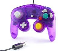 Nintendo GameCube ( Lila Transparent ) * Controller * GamePad * Pad * Kontroller