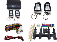 High Quality Car Alarm Remote & Full Set Central Locking Kit 4 Doors (5)
