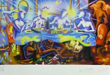"MARK KOSTABI ""A matter of taste"" NUMBERED 20/50 HAND SIGNED URBAN ART US ARTIST"
