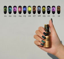 Dnd Soak Off Gel Led/Uv Cure 0.5 Oz 5D Cat Eye * Pick Your Colors*