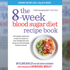 The 8-Week Blood Sugar Diet Recipe Book by  Clare Bailey🍁Fast Delivery🍁