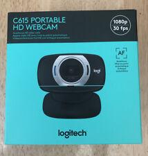 Logitech C615 1080P HD Webcam Black ON HAND Free Shipping