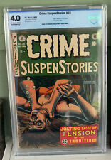 JERRY GARCIA COLLECTION: CRIME SUSPENSTORIES #19 (EC 1953) CBCS 4.0 VG NR!