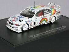 WOW EXTREMELY RARE BMW E36 320i #11 Ekblom Champion STCC 1988 1:43 Minichamps