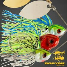 Booyah Covert Series Double Colorado Spinnerbaits - Choose Size / Model