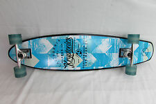 "longboard skateboard beach cruiser complete krptonics trucks wheels 36"" X 9"""
