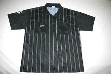 Official Sports Soccer Referee Jersey Men XL Black NEW
