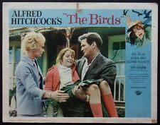 THE BIRDS HITCHCOCK HORROR ROD TAYLOR TIPPI HEDREN 1963 LOBBY CARD #5