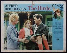 THE BIRDS HITCHCOCK HORROR ROD TAYLOR TIPPI HEDREN 1963 LOBBY CARD #5