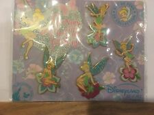 Disney Dlrp Tinker Bell Flowers And Fairies Forever 4-pin Pack
