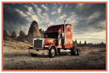 "EXOTIC SPORTS CARS AND TRUCKS SEMI #8 POSTER 12/"" x 18/"""
