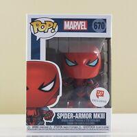 Funko POP! Marvel Spider-Armor MKIII #670 Walgreens Exclusive Vinyl Figure