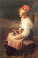 NEWMAN WILLIE BETTY AMERICAN 1863 2 ARTIST PAINTING OIL CANVAS REPRO ART DECO