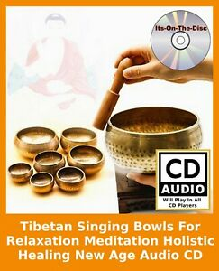 Tibetan Singing Bowls Relaxation Meditation Holistic Healing New Age Audio CD
