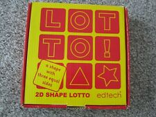 2D shape lotto