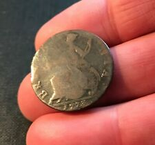 More details for 1773 king george iii copper half penny non regal pos? colonial issue 6.03 grams