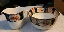 Wood & Sons England Royal Castle Creamer and open sugar