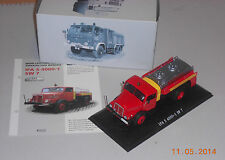 IFA S4000 S 4000  1:43 DDR Nutzfahrzeug Tankwagen  Atlas Verlag  Neu ohne Folie