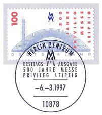 BRD 1997: Messeprivileg Leipzig Nr. 1905 mit Berliner Ersttagsstempel! 1A! 1802