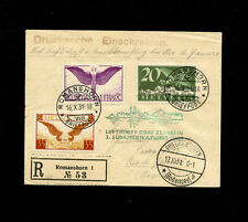 Zeppelin Sieger 133 1931 3rd South America Flight SwitzerlandTreaty SLH ZF 164B