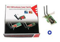 CARTE RESEAU INTERNET PC BUREAU SANS FIL WIFI 300 Mbps WINDOWS 7 VISTA MAC LINUX
