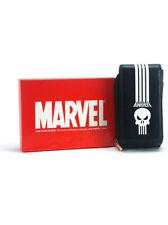 Punisher Phone Purse Accessory Satchel Marvel Comics Black Keychain Wallet New