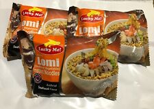 6 packs LUCKY ME! Instant LOMI (Seafood Vegetables) Instant Noodles 2.29oz (65g)