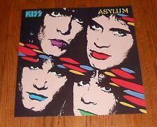 Kiss Asylum Poster Flat Square Promo 12x12