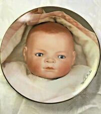 Baby Doll Ltd Ed Plate 2161/9500 1982 Seeley Old German Dolls Bye-Lo