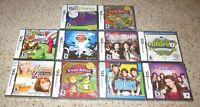 Lot of 10 Nintendo DS Games (All Brand New) Wholesale Lot Fast Shipping!